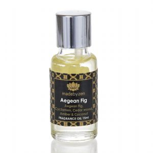 AEGEAN FIG - Signature Scented Fragrance Oil Made By Zen 15ml